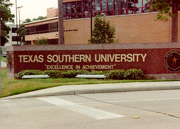 Texas Southern University, 3100 Cleburne Street  , Houston, Texas, 77004